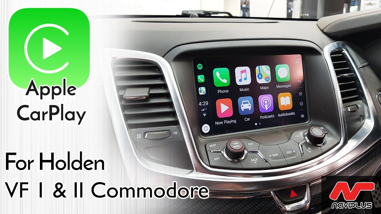 Holden VF Commodore & Calais / Chevrolet SS MyLink Integrated Apple CarPlay  Demo video