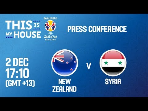 New Zealand v Syria - Press Conference
