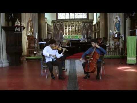 Braimah and Sheku KannehMason play Passacaglia  Handel
