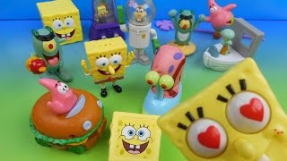 Download 2004 SPONGEBOB SQUAREPANTS THE MOVIE SET OF 12 BURGER KING KID'S MEAL TOY'S VIDEO REVIEW Mp3 and Videos