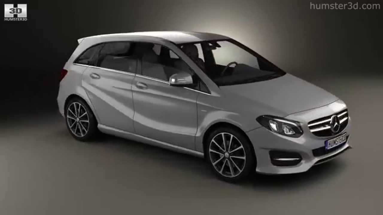 mercedes benz b class w246 urban line 2014 by 3d model store youtube. Black Bedroom Furniture Sets. Home Design Ideas