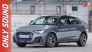 New audi A1 2018 - first preview only sound