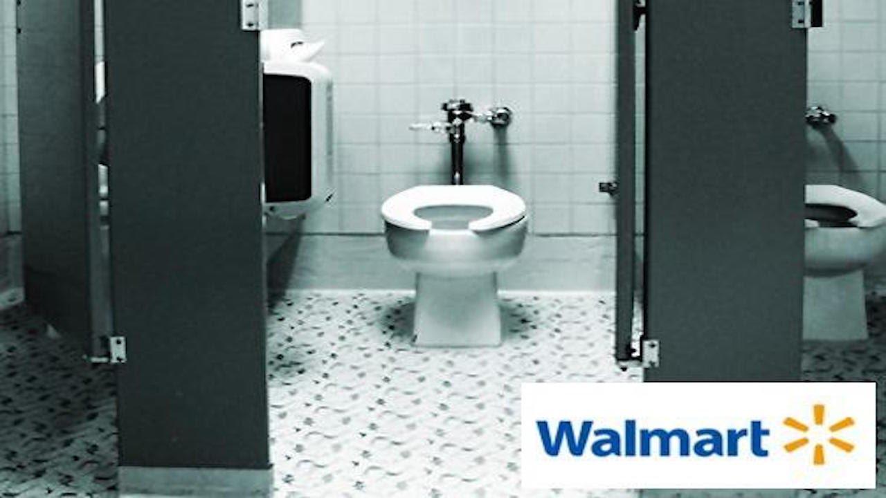 Woman Does Something Haunting In Walmart Bathroom Youtube