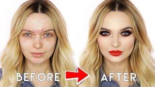 Thanksgiving Flawless Makeup Tutorial // MyPaleSkin