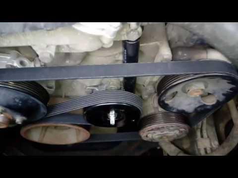 Кайрон бензин 2.3 замена ролика,нятяжитель ролика и амортизатор натяжителя