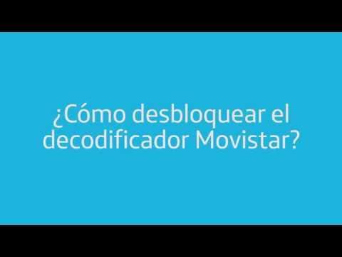 Cómo desbloquear tu decodificador Movistar? - YouTube