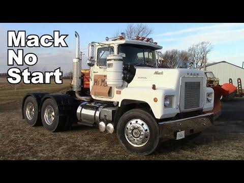 Cool 1977 Mack RL600L - No Crank, No Start - Plus Many Other Repairs