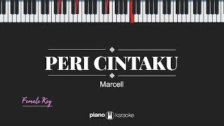 Download lagu Peri Cintaku (FEMALE KEY) Marcell (KARAOKE PIANO)