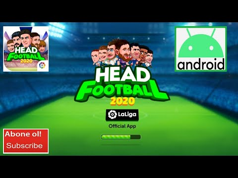 HEAD FOOTBALL  LALİGA 2020,GAMEPLAY,FİRST LOOK,YENİ OYUN,ANDROİD,İNDİR,DOWNLOAD
