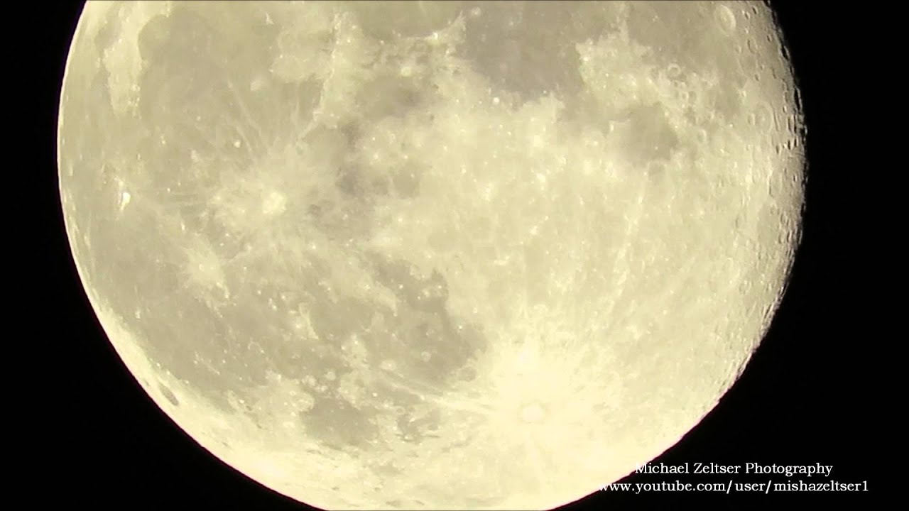 Canon Powershot Sx60 Hs Zoom Test Moon Full Hd Super Zoom Youtube