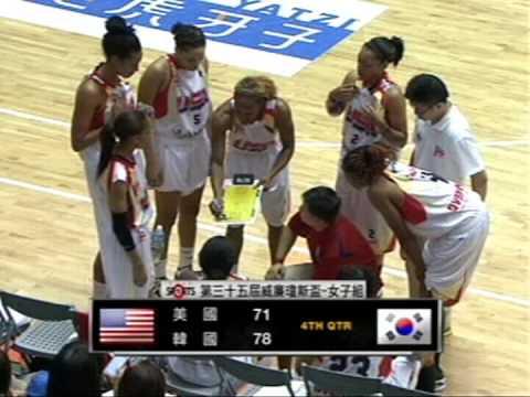 2013 William Jones Cup Woman - Savage USA vs. Korea - 第35屆 威廉瓊斯盃女子組