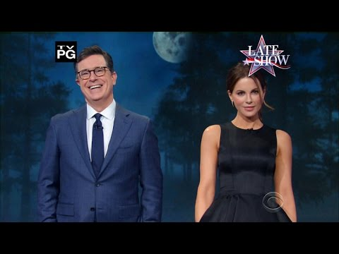 Stephen Colbert and Kate Beckinsale's Tips For Werewolf Hunting fragman