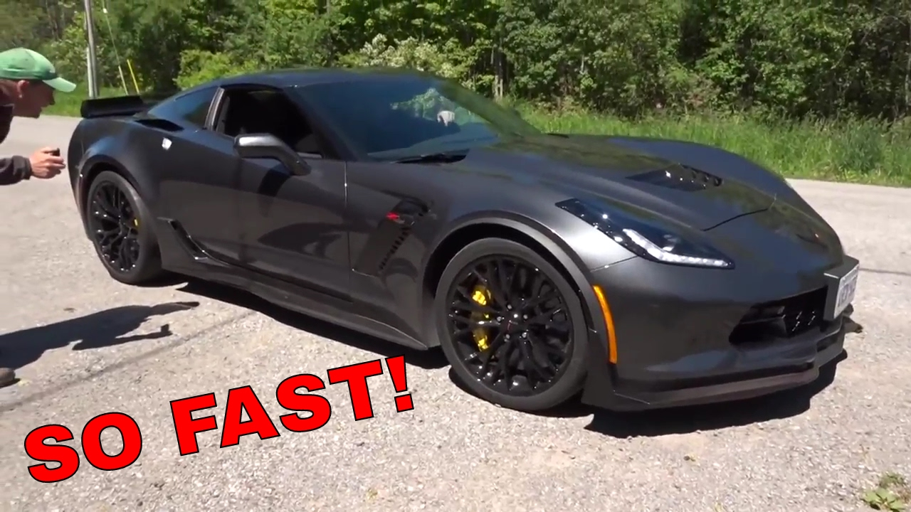 650hp 2017 Corvette Zo6 Ride Youtube
