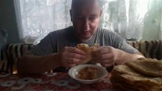 Чебуреки узбекские с мясом, грибами, с сыром.