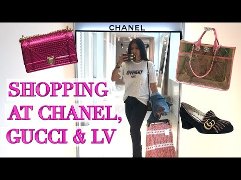 Lux Shopping In Toronto & Mistreated At Chanel! Tons Of Gucci & LV