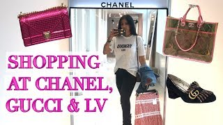 Lux Shopping in Toronto & Mistreated at Chanel! Tons of Gucci & LV thumbnail