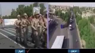 На военном параде в Иране произошел теракт, есть погибшие и раненые .