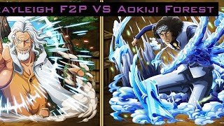 OPTC Global Aokiji 0 Stamina Training Forest with Rayleigh F2P-Team