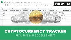 How to Make a Real Time Cryptocurrency Tracker Spreadsheet using Google Sheets
