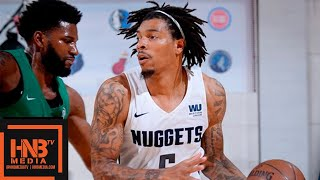 Boston Celtics Vs Denver Nuggets Full Game Highlights / July 7 / 2018 NBA Summer League
