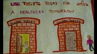 World Toilet Day Posters Drawing