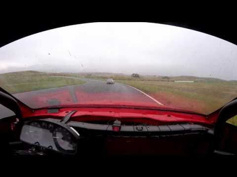 Going rural - Thunderhill West in the rain