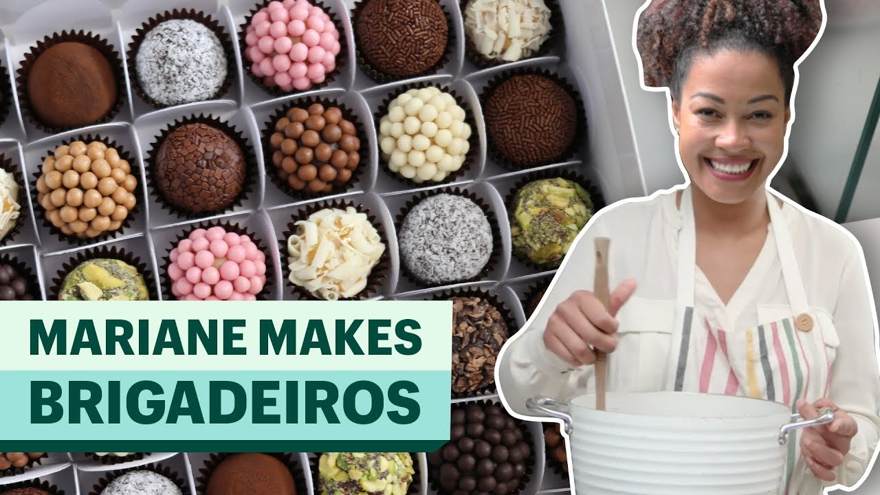 How To Make Authentic Brazilian Brigadeiro Youtube