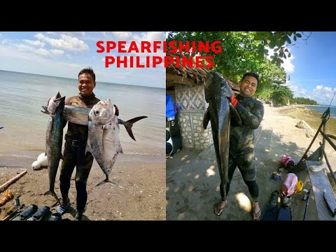 Spearfishing Philippines(Cebu) | Hunting Cobia,King Mackerel And Trevallies| Omer Invictus Carbon