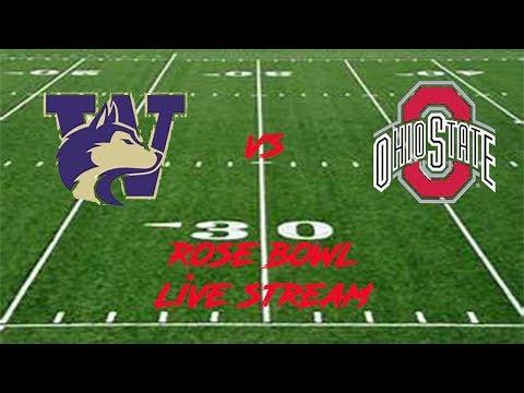 Washington Vs. Ohio State 2019 Rose Bowl Live Stream Play By Play