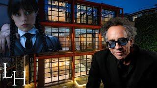 Inside Tim Burton's £20,000,000 former London home!🎬🏡