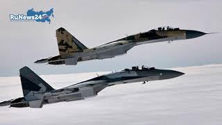 Появилась запись переговоров пилотов разбившегося Су-30 / RuNews24