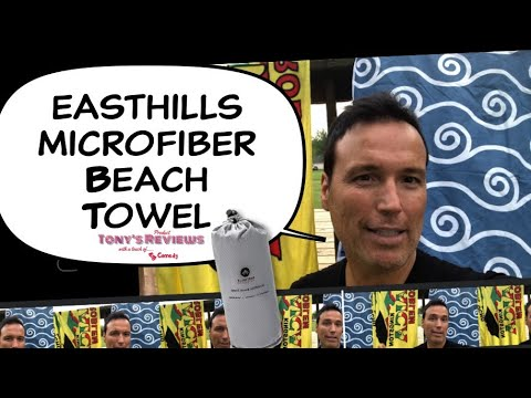 Easthills Outdoors Microfiber Beach Towel Review