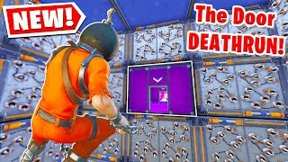 I Made A MUSELK DOOR DEATHRUN! (Fortnite Creative Mode)
