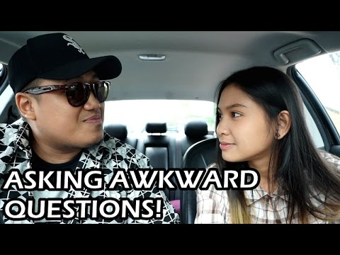 ASKING AWKWARD QUESTIONS! (ft. Sissy Imann)