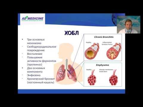 Вебинар «Хроническая обструктивная болезнь лёгких»
