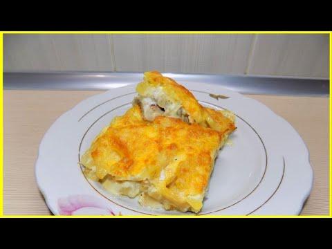 Как приготовить картошку с мясом и сыром в духовке