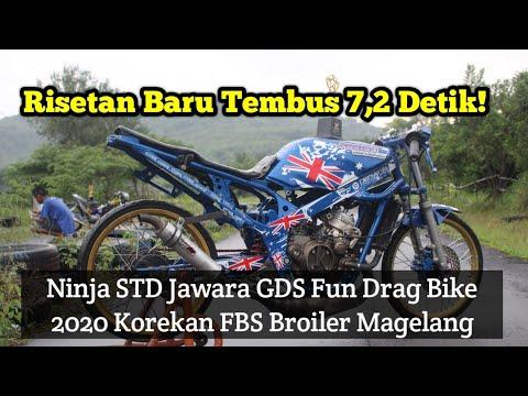 risetan-baru-tembus-7,2-detik!-ninja-std-jawara-gds-fun-drag-bike-2020-korekan-fbs-broiler-magelang