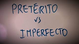 Preterite vs Imperfect (INGLÉS)