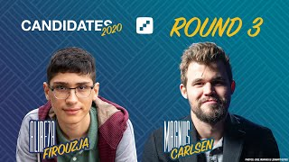 FIDE Candidates 2020 | Round 3 | Live Commentary with Jan Gustafsson and Lawrence Trent