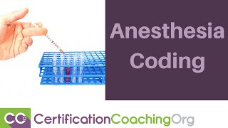 Medical Coding Tips — Anesthesia Coding