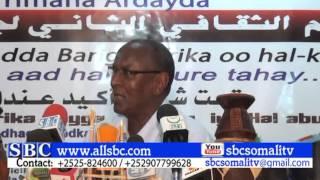 BOOSASO:- ABWAAN AXMED FAARAX IDAAJAA OO KA HADLAY HEERKA DHAQANKA IYO SUGAANTA SOMALIDA
