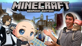 Minecraft - What's Next?! [Bedrock Survival ft. ThatBaldGamer and AuraOfTheQ!]
