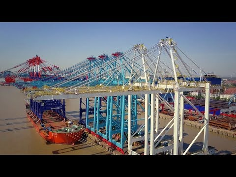 From connected cranes to remote controls, ZPMC is transforming shipping with smart port services