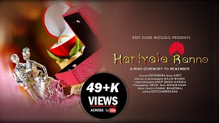 Royal Rajput Ring Ceremony | Hariyala Banna - A Ring Ceremony to Remember by Edit Zone @Studio