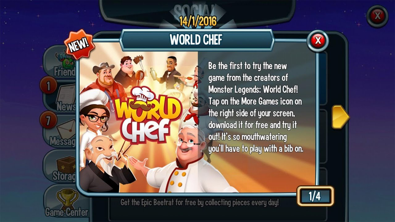 World Chef NEW Social Point Game Available on Mobile ...