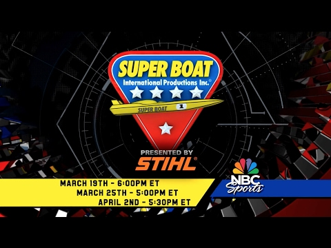 Super Boat Racing 2017 NBC Sports Key West World Championship Teaser