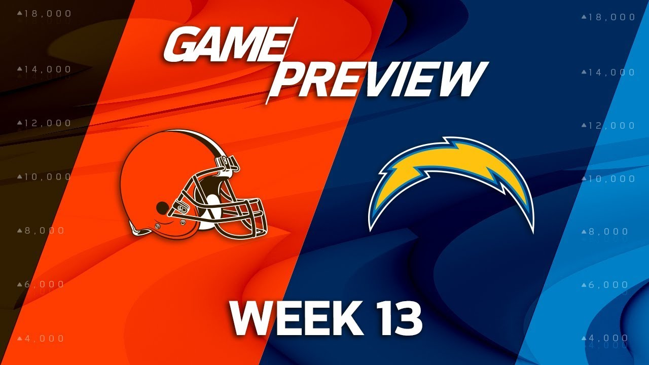 Cleveland Browns vs. Los Angeles Chargers | NFL Week 13 ...