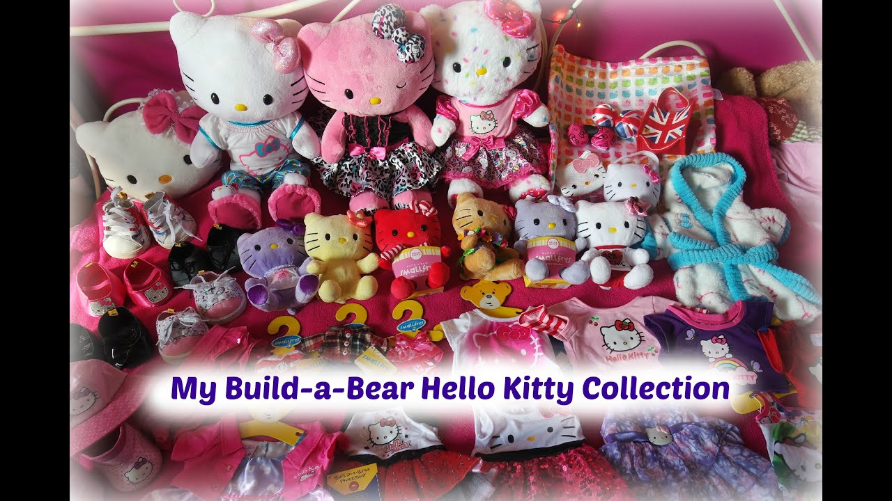 My BuildaBear Hello Kitty Collection  YouTube