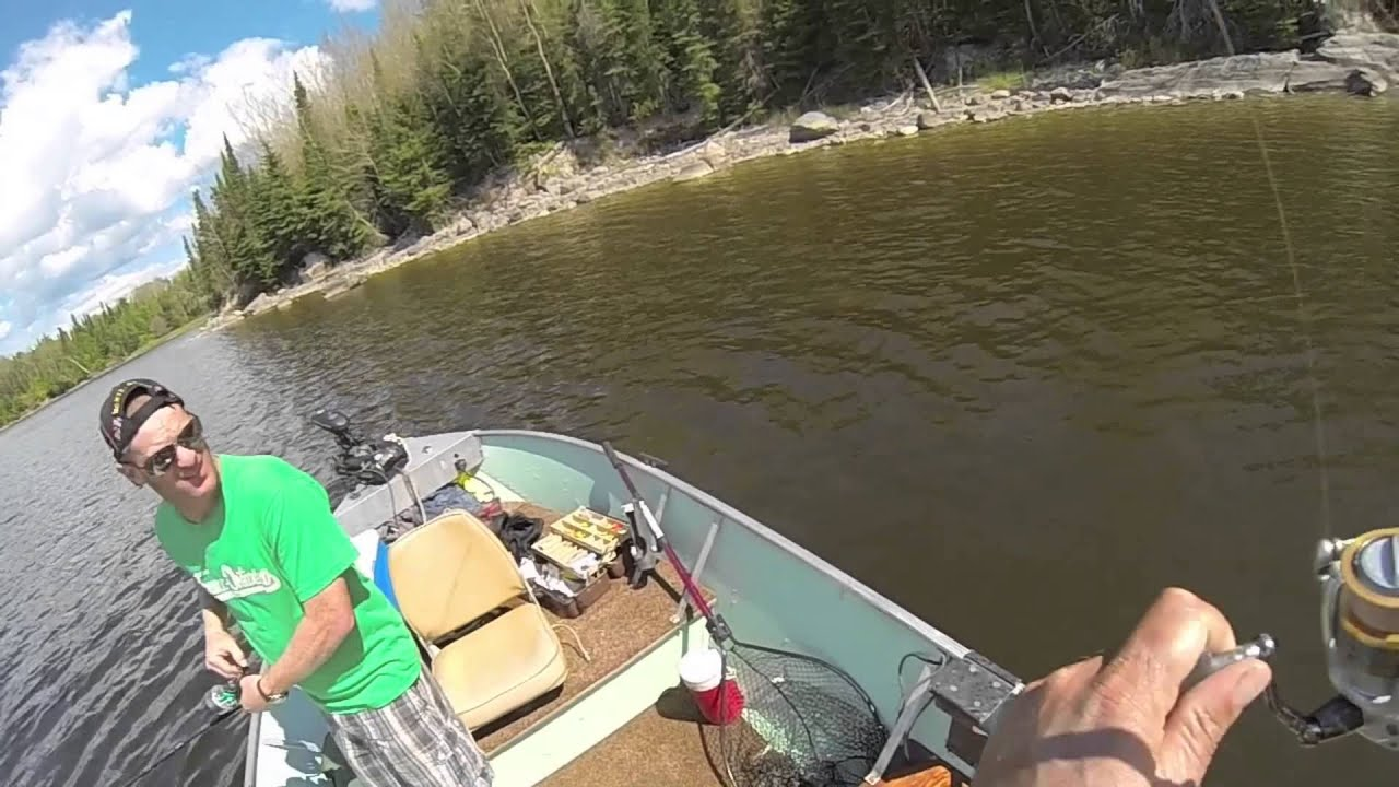Lac seul walleye fishing june fishing at william 39 s bay for Lac seul fishing report