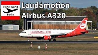 Laudamotion Airbus A320 *OE-LOD* landing at Berlin Tegel Airport